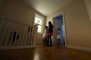 Sister shows siblings home