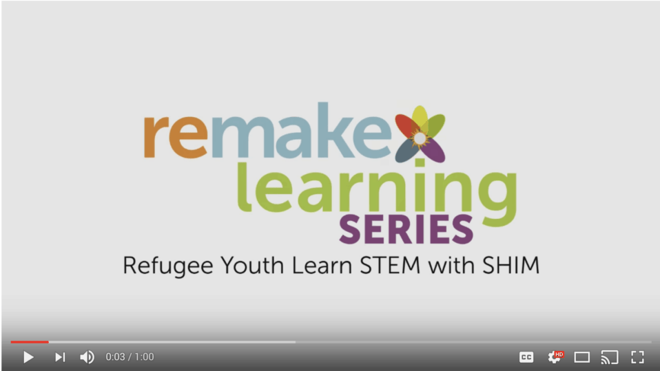 Refugee Youth Learn STEM with SHIM