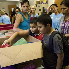 700 backpacks to be distributed to South Hills area students