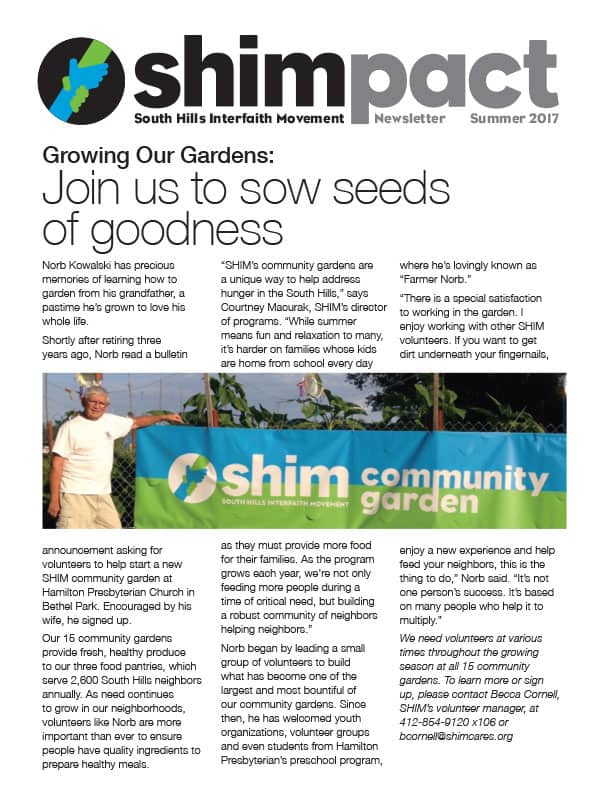 shimpact newsletter summer 2017