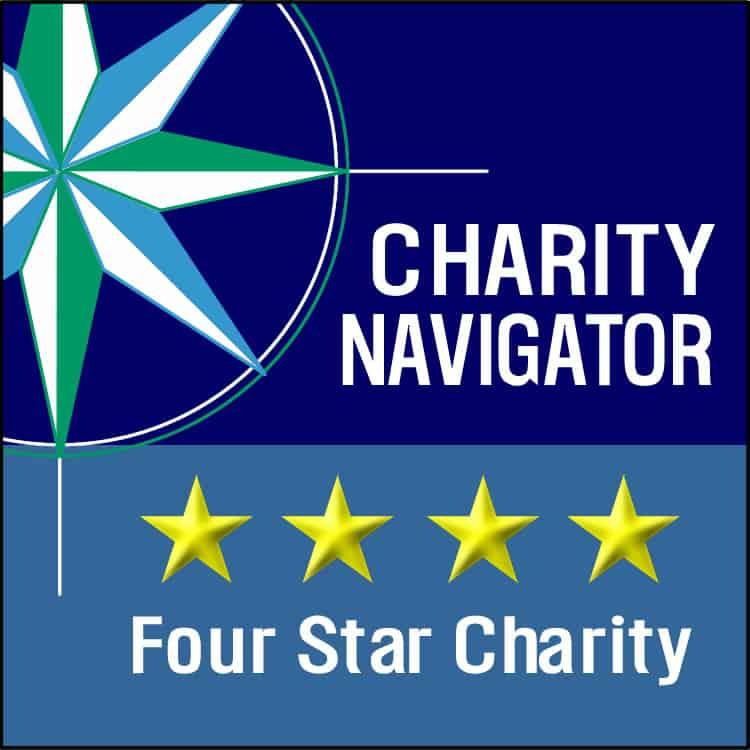 Charity Navigator. four stars