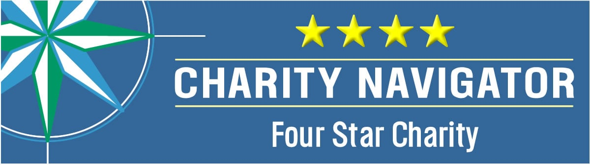 Charity Navigatior, four stars