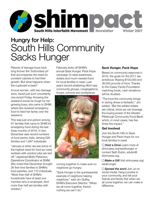 shimpact newsletter winter 2017
