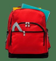 red-bookbag