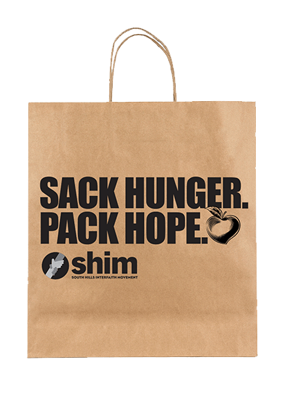 Sack hunger brown bag