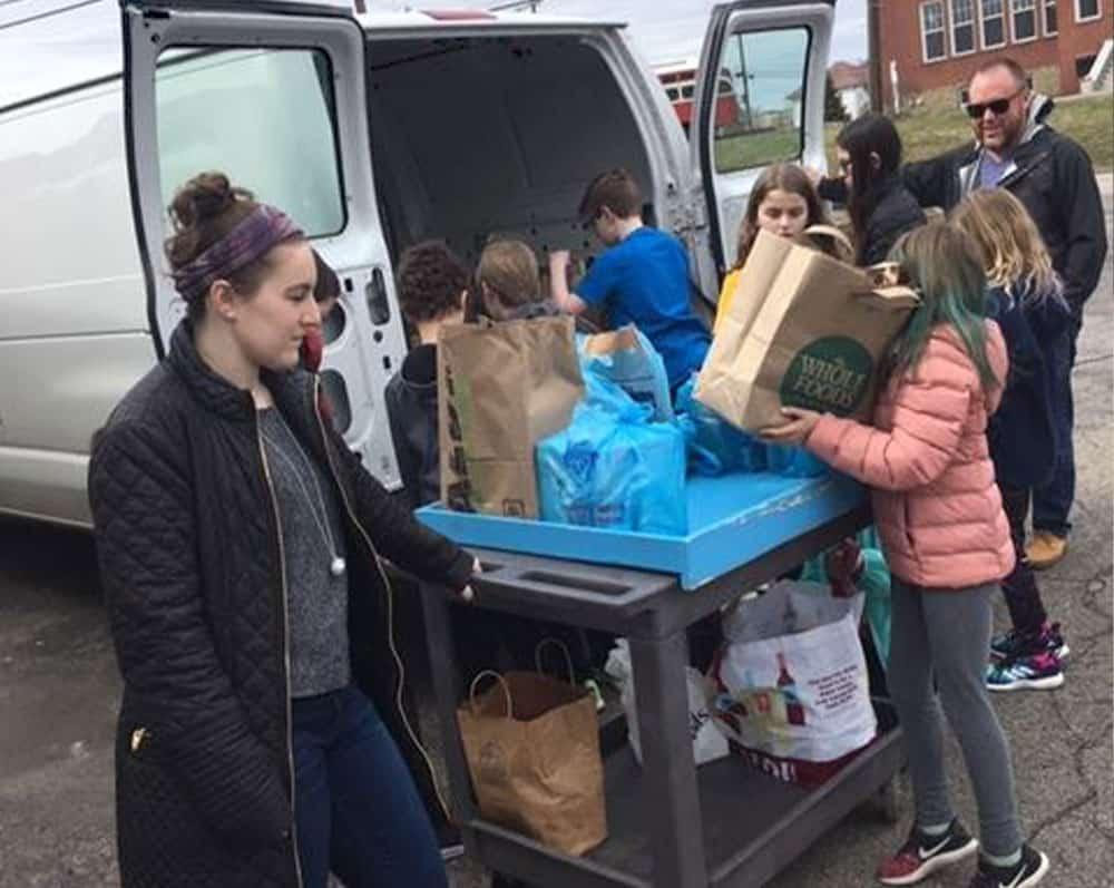 sack hunger donation