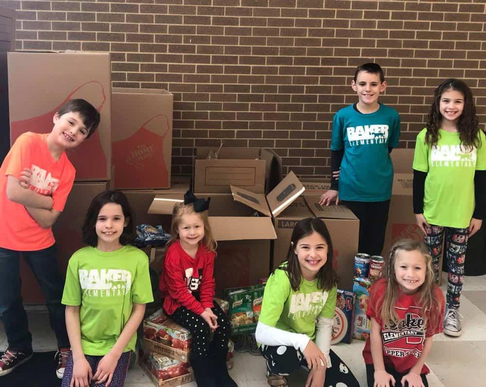 Baker Elementary Donation
