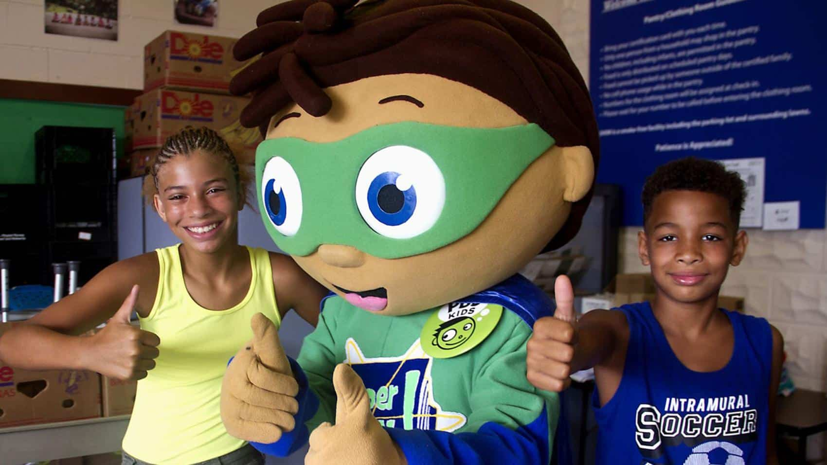 "PBS ""Super Why"" Mascot"