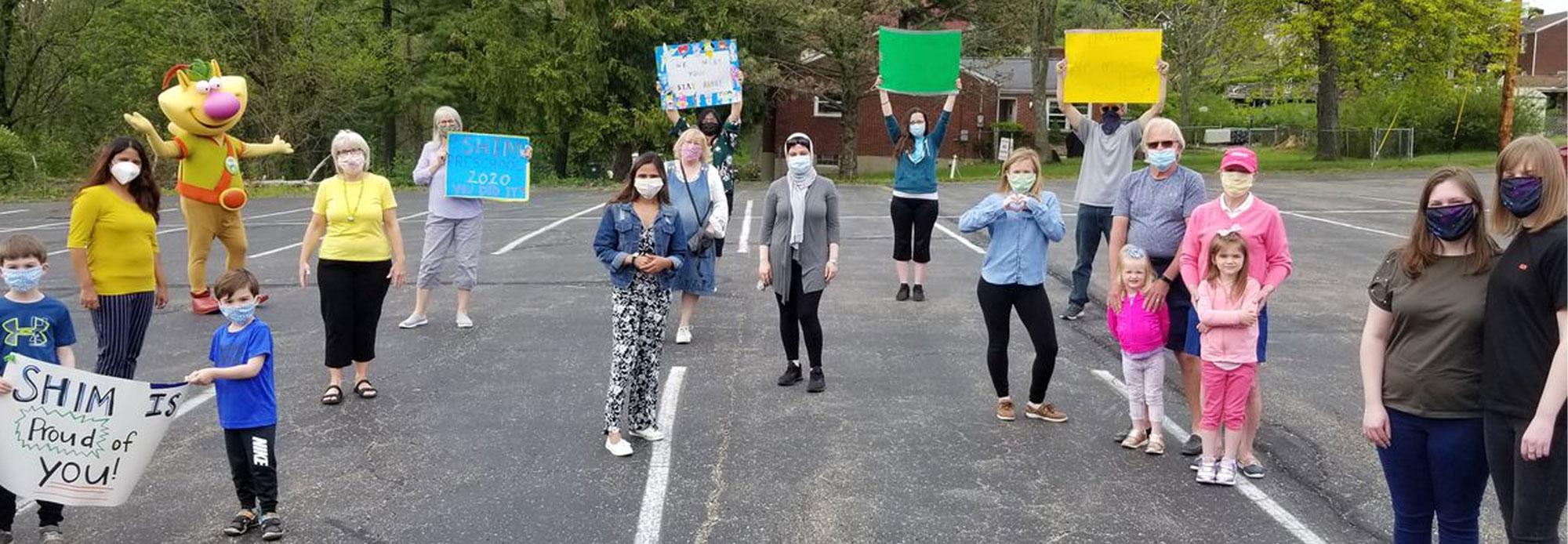 Parade celebrates kids before summer vacation