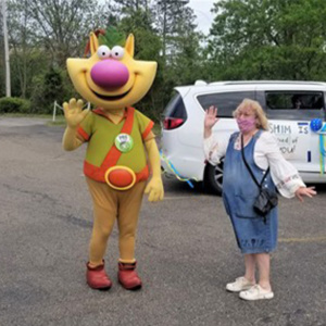 'Nature Cat' from WQED with Terry Martin, second-grade teacher with SHIM's After School program