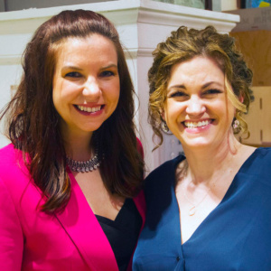 Amy Taylor, 2019-20 president, and Kimberly Love