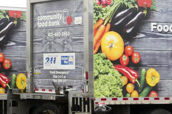Pittsburgh Community Food Bank trucks