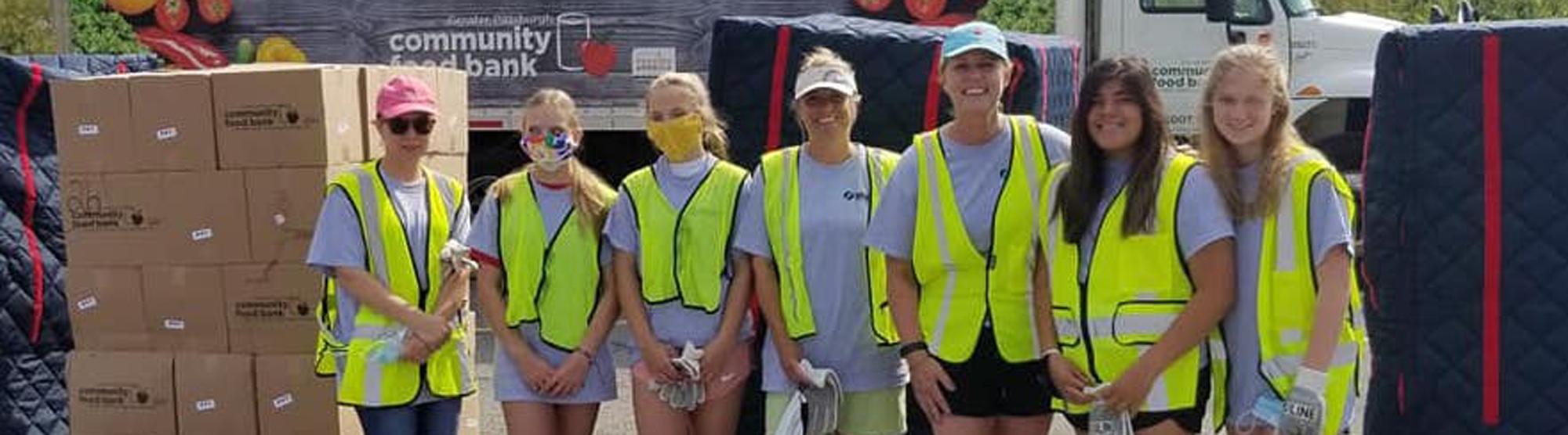 Group of volunteers help SHIM