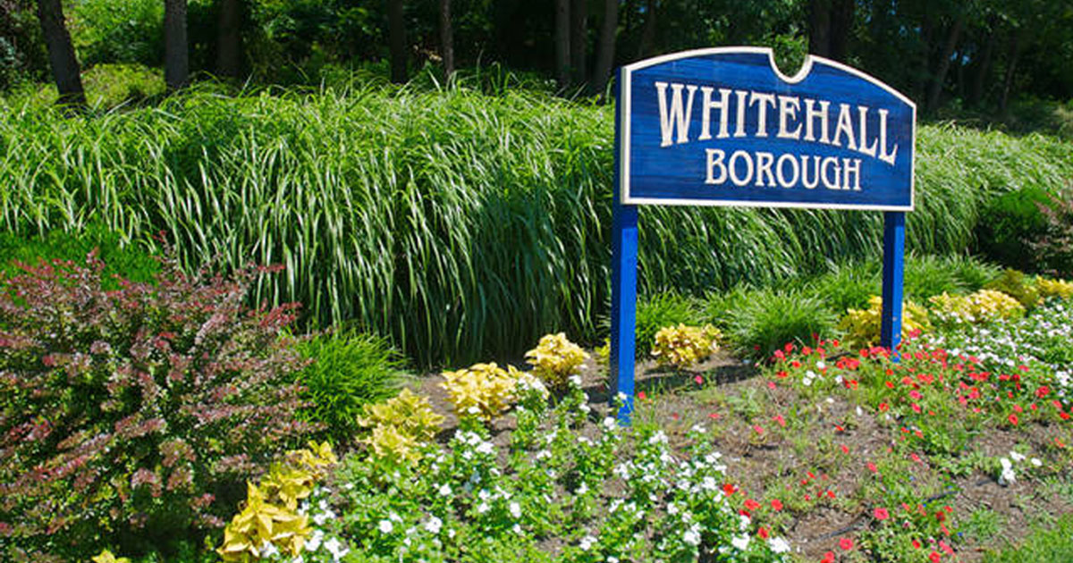 Whitehall Borough sign