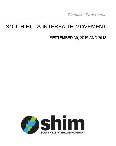 SHIM Financial statement 2018-2019