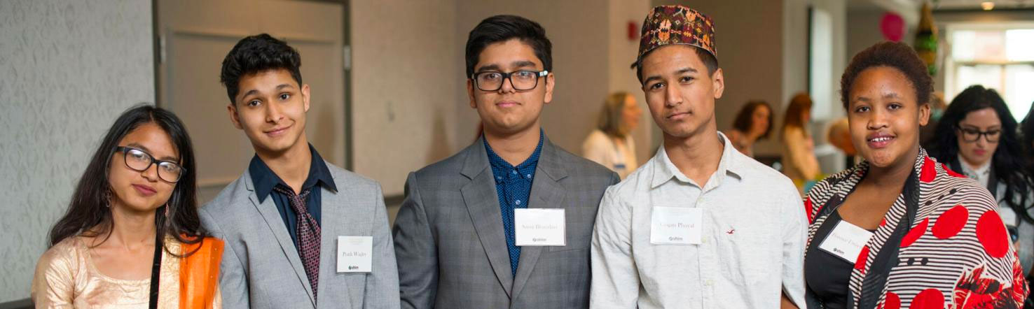 Young adults attending SHIM's Celebrate Event