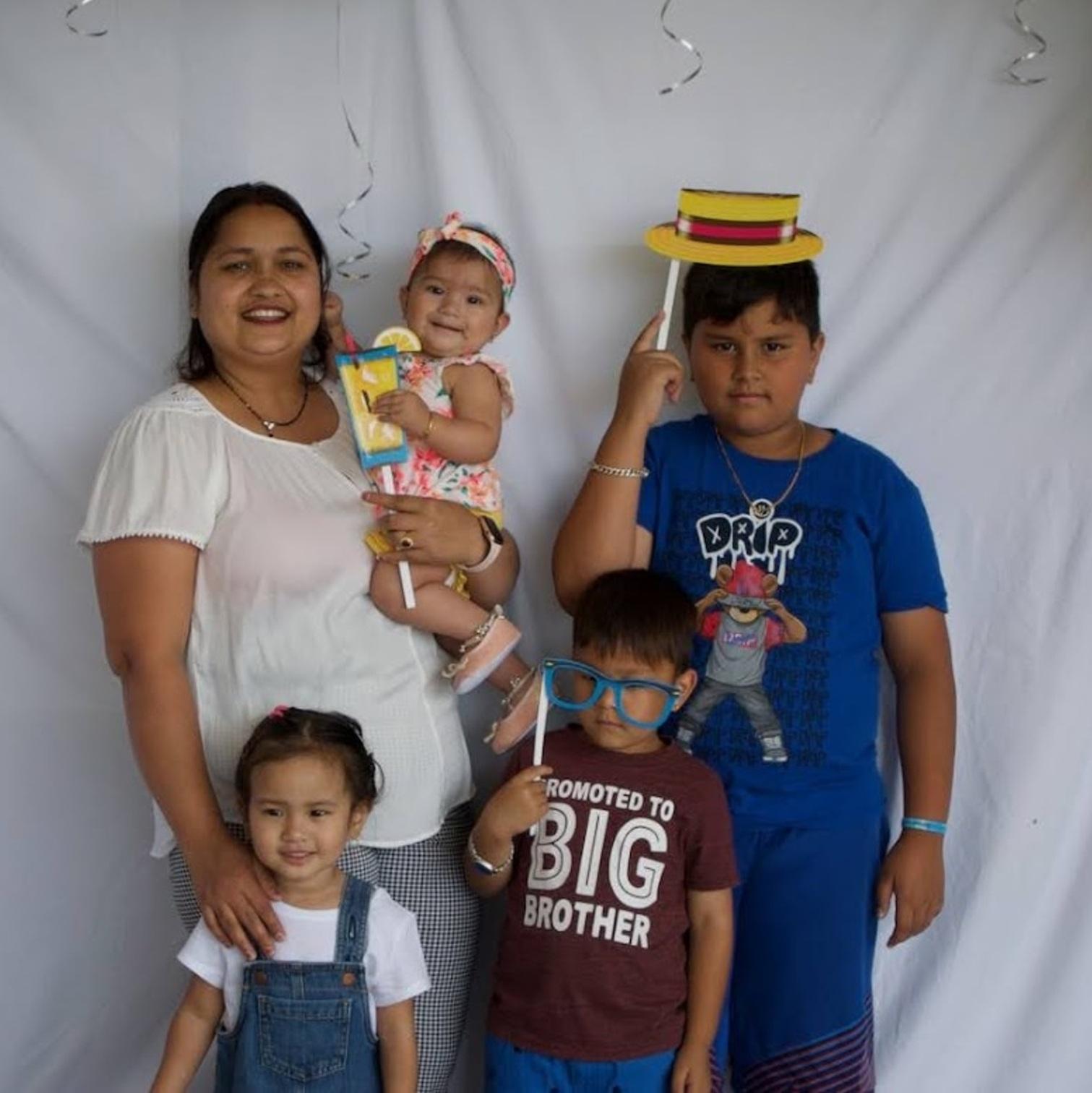 Family at SHIM picnic